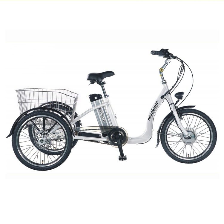 Borita 20inch Electric Tricycle Bicycles of Three Wheels for Adult