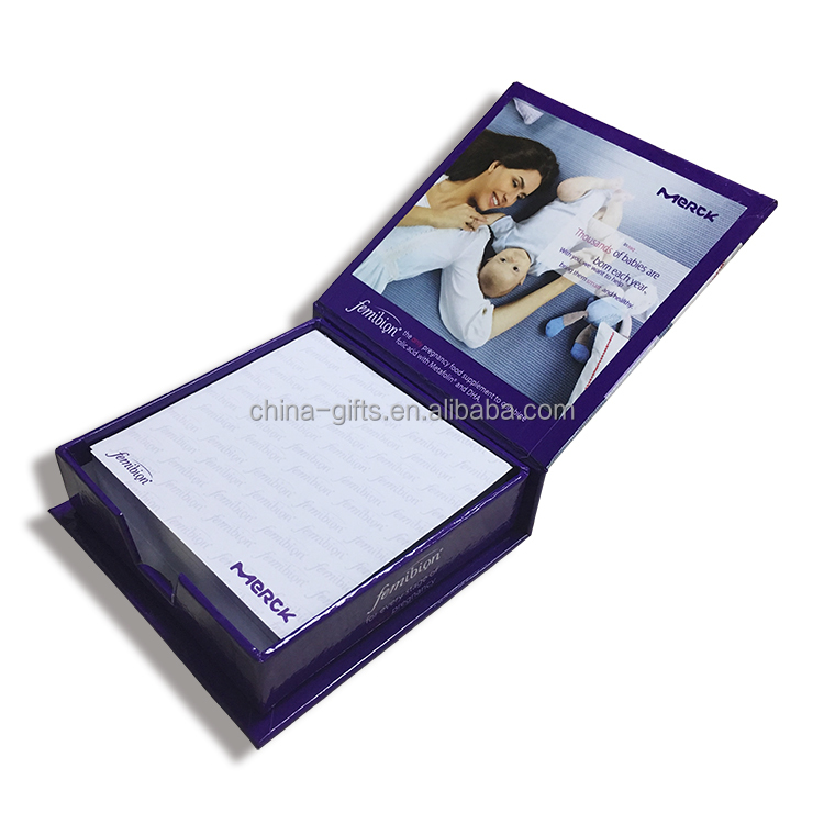 advertising memo box promotional gift item