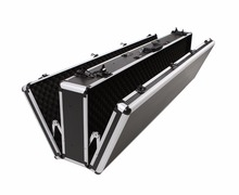 Portable Aluminum Double Gun Hard Twin Shot Gun Rifle Case