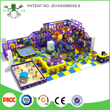 Space theme design kindergarten playground equipment with sand pit