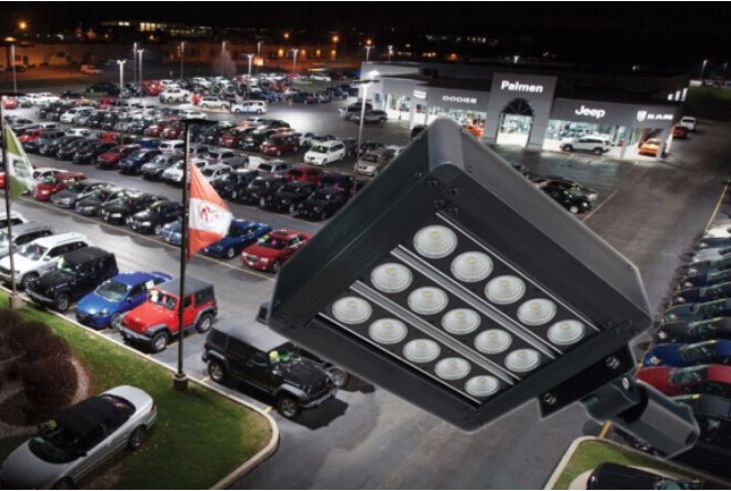 Meanwell driver & Bridglux led up to 190lm/w Street led light /lamp 100w led street lighting fixture