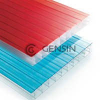 Haining Solar-control Hollow Polycarbonate Sheet 600/800/1040mm