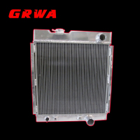Auto Parts Full Aluminum Radiator Fit For Ford Mustang 64-66