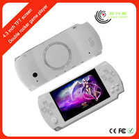 Portable free download Game Console MP3/MP4/MP5 Media Player Style with TF card/TV-Out