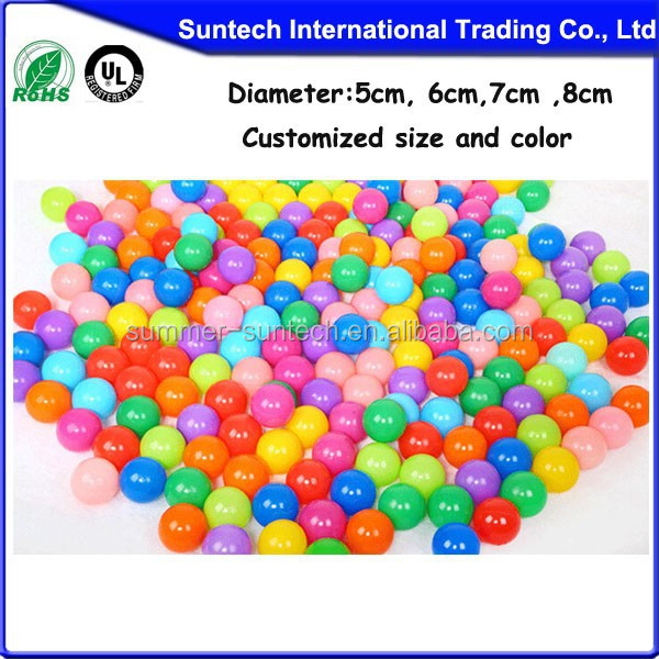 Plastic Kids soft Play balls, Colorful& Light weight Plastic balls