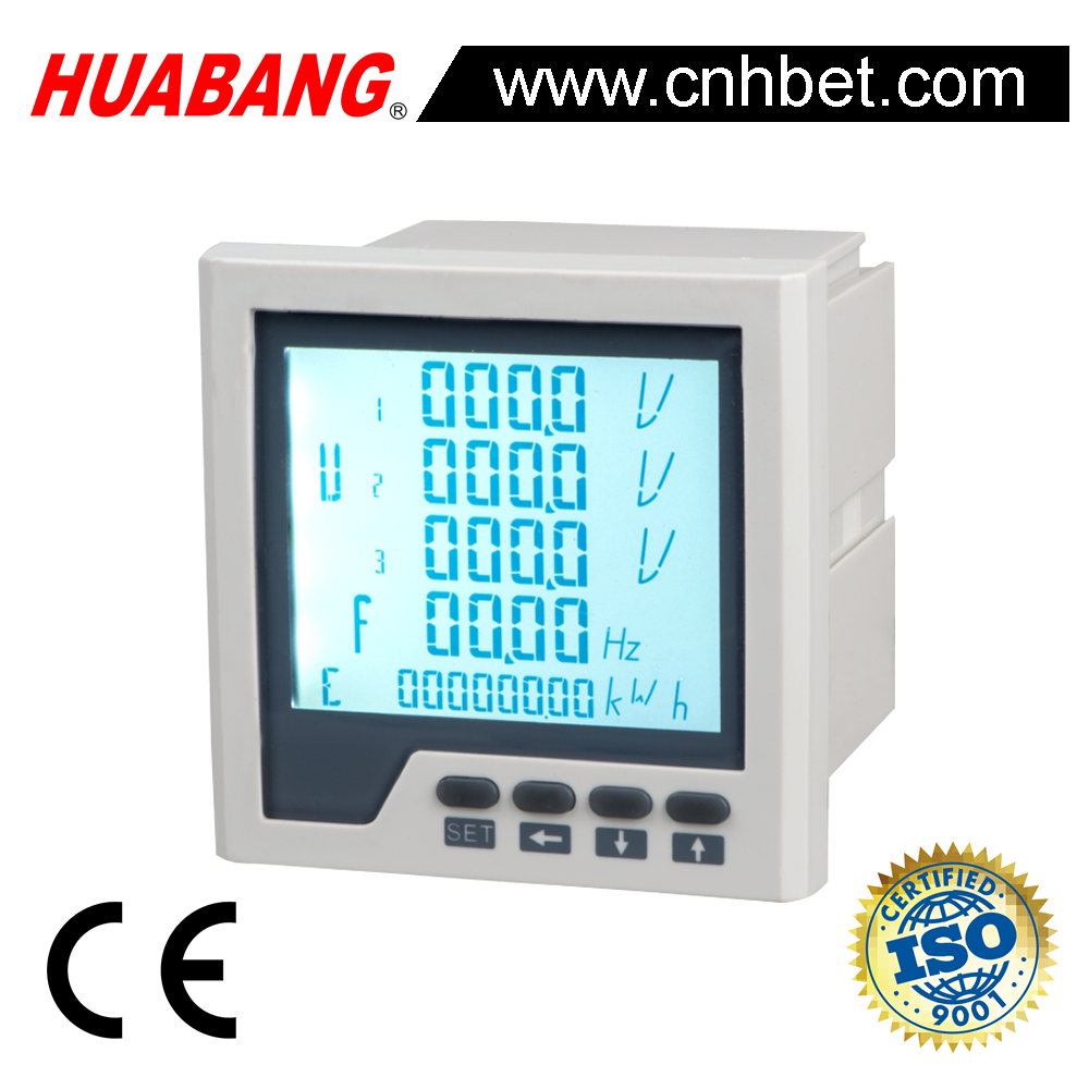 PD668 Three phase single phase TCP IP power quality analysis Modbus RS485 power meter