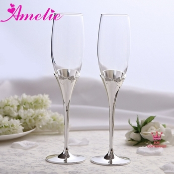 A07k11 wholesale bowknot unique champagne flutes buy unique champagne flutes unique champagne - Unusual champagne flutes ...