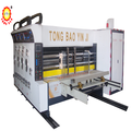 automatic 3 color printing slotting machine