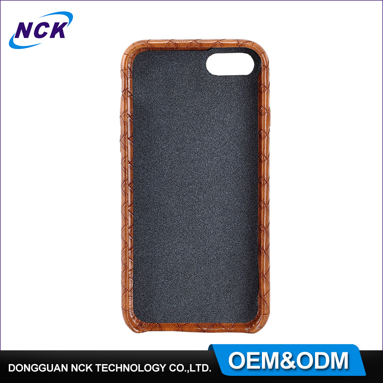 MOQ=100pcs free sample mobile phone leather case for iphone 7 7plus