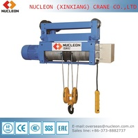 NUCLEON NH design and supply special purpose wire rope electric hoist
