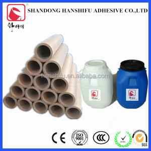 Factory selling customized paper cardboard tubes adhesive glue /adheisve for paper core