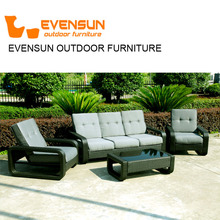 China EVENSUN High Quality Import rattan wicker outdoor furniture
