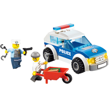 2017 building blocks police set toys educational building block toys diy toys