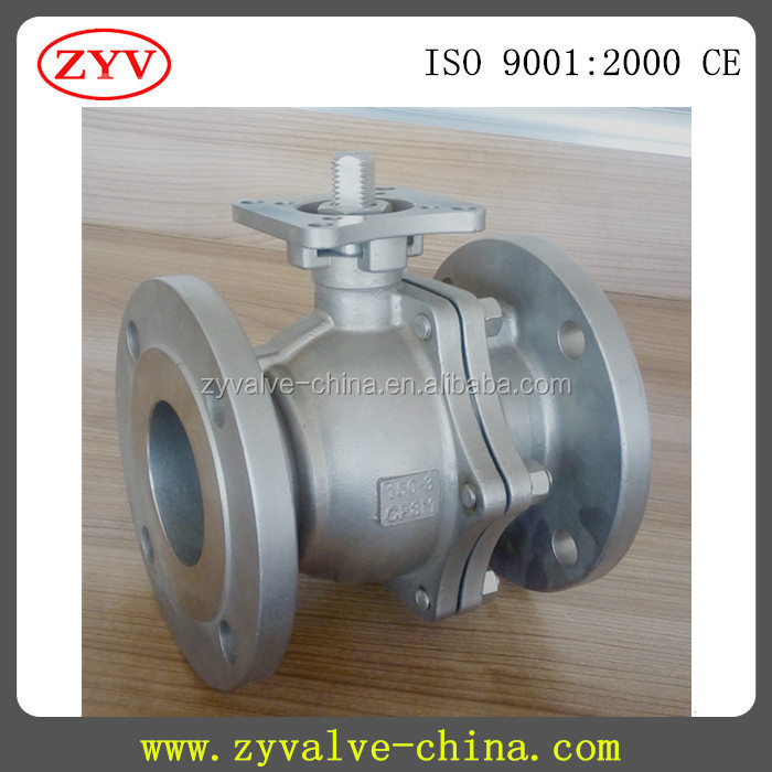 150 -600lb Flanged ball valve with ISO5211 With Direct Mounting Pad