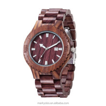 Oem Design Men Quartz Watch China Movtment Wood Watches With Your Logo