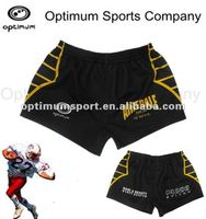 no colour and design limited sublimation polyester/spandex custom extra small rugby short