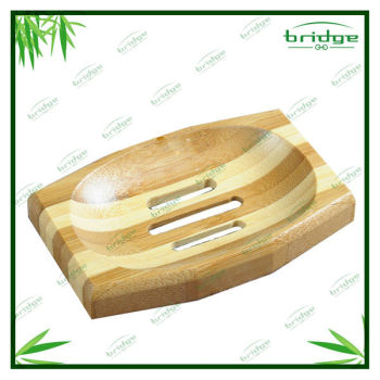 Nice bamboo magnetic soap holder