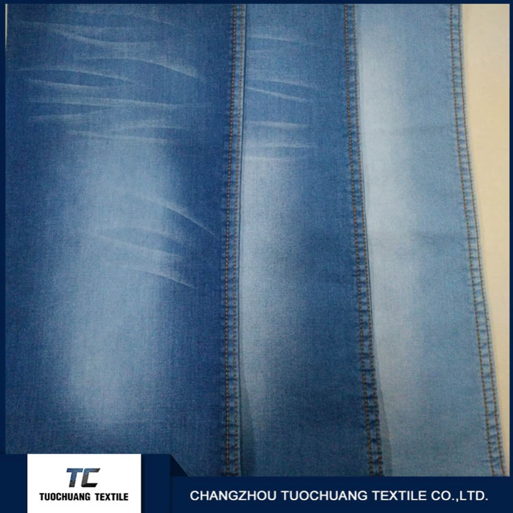 wholesale clothing fabric china women 100% cotton denim jeans