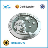 custom engraved silver coin