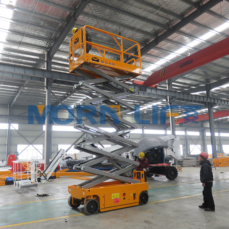 5-14m self propelled electric scissor lift