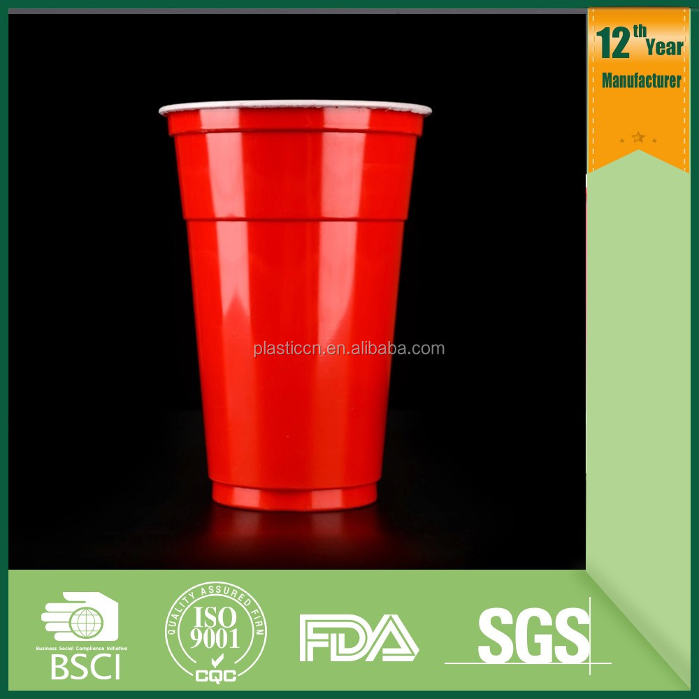 promotional solo colored styrofoam plastic cup wholesale