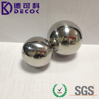 customized solid & hollow big size 5 inch 6 inch 150mm steel ball