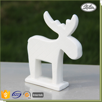 Ceramic Decoration Deer Shape Wholesale Christmas Ornament ...
