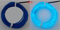 1.2mm 2.3mm 3.2mm el wire, high brightess, wholesale