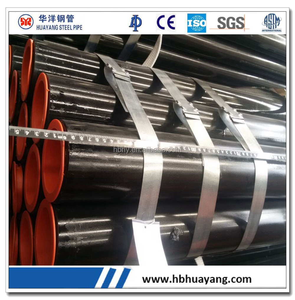 API 5L X56 ERW carbon steel pipe & tube for gas and oil transportation