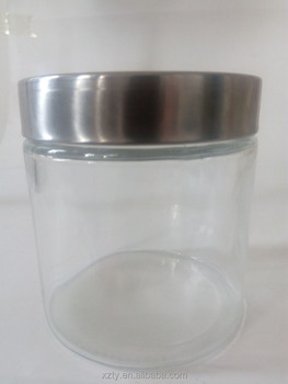 760 ml wide mouth food storage jars with tinplate caps