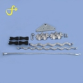 Shihui professional fiber optic cable double suspension clamp