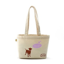 promotioanl logo print wholesale custom cheap standard size cotton canvas tote bag