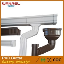 Roofing Material Types Resin Concrete Gutter Drain PVC Rainwater Gutter,Roof Gutter Philippines