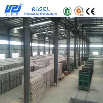 precast concrete wall panel making machine for prefab house light weight wall panel