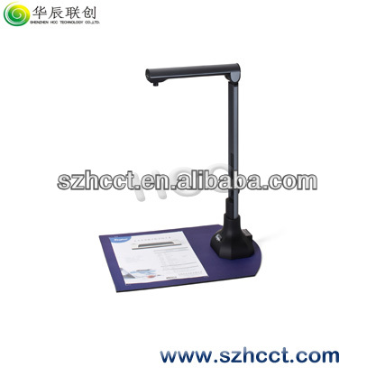 Folded &stand up Aluminum-alloy Document Camera HCS-900S