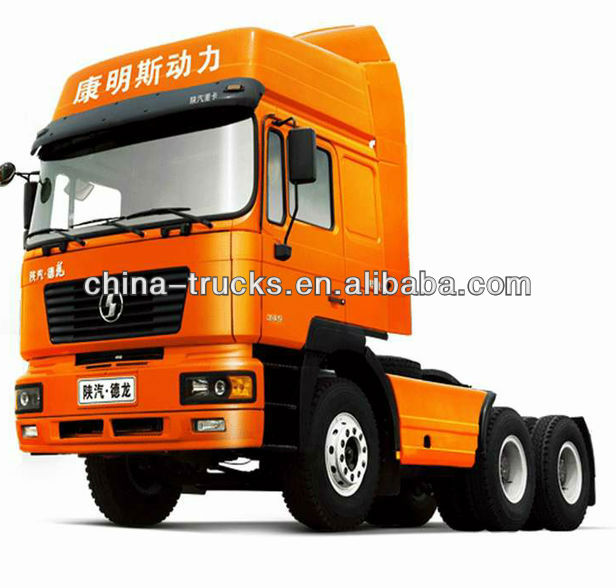 SHACMAN D'Long F3000 ISME Engine 420 hp 6x4 tractor truck