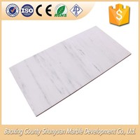 Best Professional Stone Product Chinese Snow White Marble Tile