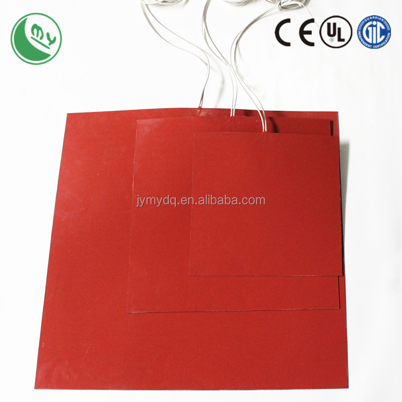 customized silicone rubber heater pet warm keeping element CE UL certificated