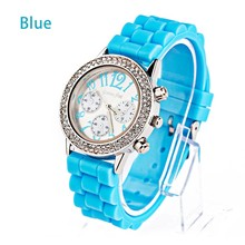 2013 Vogue top ring fashion luxury diamond silicone watch