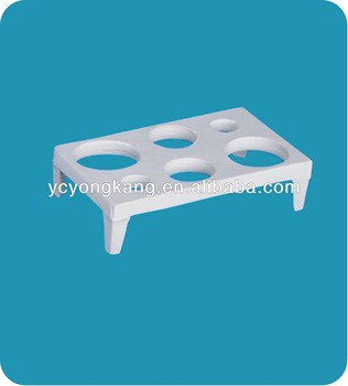 lab porcelain crucible shelf