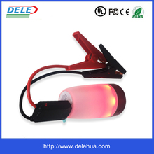 New fashion design Emergency Tool lighting car jump starter 10000mAh 5 in 1 Car Booster with LCD Display