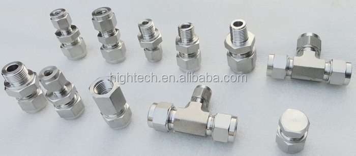 double ferrule compression tube fitting,equal union