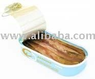 Anchovies flat fillets in olive oil