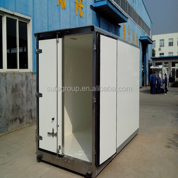 container Dry and cold truck body