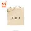 China personalized cheap logo shopping canvas tote cotton men sling bag