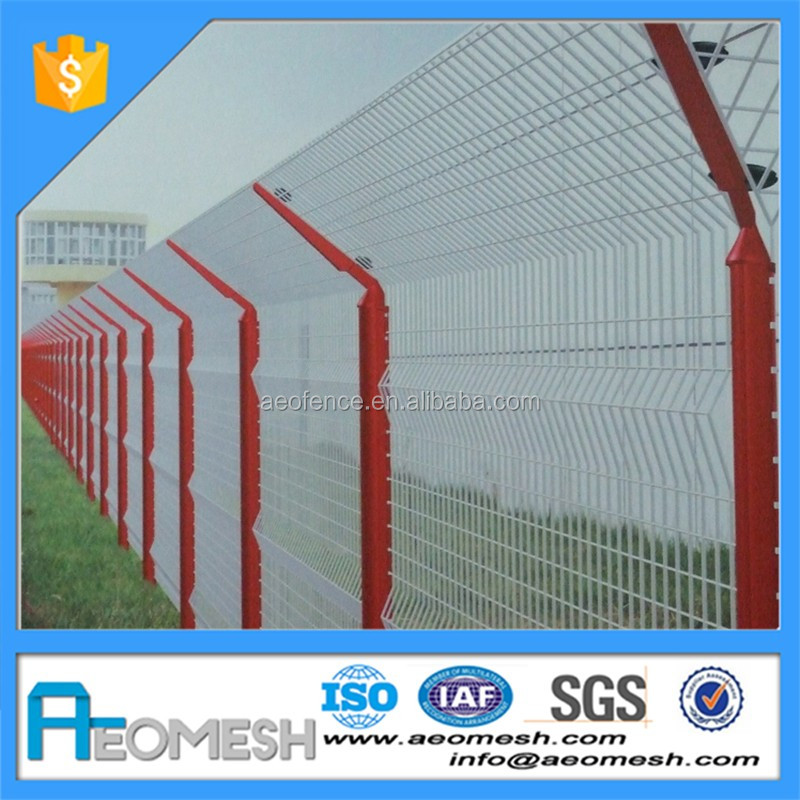 AEOMESH Barbed Wire Security Fence from Anping factory