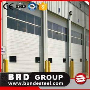 Good Quality Fireproof Industrial Sectional Door From China Supplier