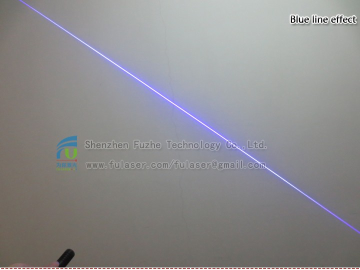 FU450AL10-GD16 440-460nm 10mW adjustable blue Diode laser module, Laser line generator 5-7.5VDC lazer with adjustable focus