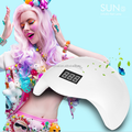 2016 new product SUN5 48W no pain uv light led nail lamp 405nm 395nm nail machine nail dryer