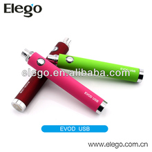 New Electronic Cigarette eGo VV Passthrough EVOD USB Kanger Evod-vv Passthrough Battery